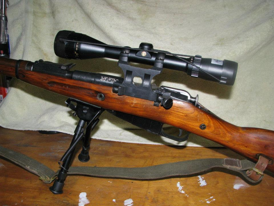 Alf Img Showing Modern Mosin Nagant Sniper Rifle